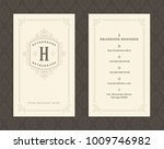 luxury business card and... | Shutterstock .eps vector #1009746982