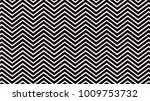 zigzag form of black and white... | Shutterstock .eps vector #1009753732