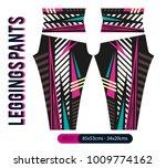 leggings pants fashion vector... | Shutterstock .eps vector #1009774162