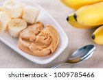 early morning healthy banana... | Shutterstock . vector #1009785466