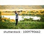 picture of boy looking in... | Shutterstock . vector #1009790662