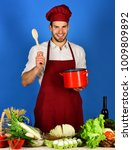 cuisine and cooking concept.... | Shutterstock . vector #1009809892