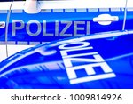 typical police vehicle in... | Shutterstock . vector #1009814926
