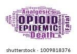 opioid crisis word cloud... | Shutterstock .eps vector #1009818376
