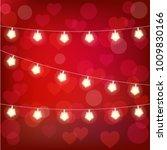 realistic st. valentine's... | Shutterstock .eps vector #1009830166