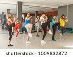 a group of sportsmen in... | Shutterstock . vector #1009832872