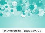 medical network isolated on... | Shutterstock .eps vector #1009839778