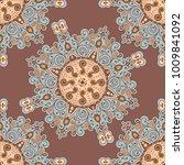 vector abstract seamless...   Shutterstock .eps vector #1009841092