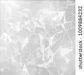 connected polygons plexus...   Shutterstock .eps vector #1009884232