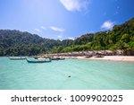 surin islands thailand   Shutterstock . vector #1009902025