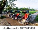 Cyclo  Pedicab  Beautiful Colo...