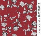roses sketch illustrations... | Shutterstock . vector #1009928212