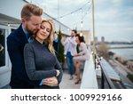 shot of a affectionate couple...   Shutterstock . vector #1009929166