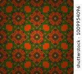 vector seamless bandana print... | Shutterstock .eps vector #1009954096