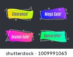 flat linear promotion vivid... | Shutterstock .eps vector #1009991065