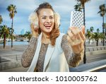 in barcelona for a perfect... | Shutterstock . vector #1010005762