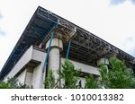 view of abandoned building | Shutterstock . vector #1010013382