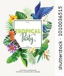 Tropical Hawaiian Party...