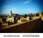 landscape of the city of girona ...   Shutterstock . vector #1010036686