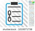 blockchain contract pictograph...   Shutterstock .eps vector #1010071738