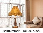 art design lamp in comfortable ... | Shutterstock . vector #1010075656