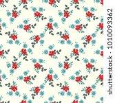 seamless vector ornamental... | Shutterstock .eps vector #1010093362