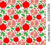 vector healthy fruit... | Shutterstock .eps vector #1010100826