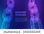 blockchain. cryptocurrency.... | Shutterstock .eps vector #1010102245