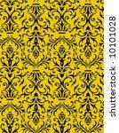 seamless floral wallpaper | Shutterstock .eps vector #10101028