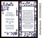 vintage delicate invitation... | Shutterstock .eps vector #1010104822