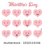 vector illustration  set of 12... | Shutterstock .eps vector #1010114146
