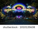little india  singapore  ... | Shutterstock . vector #1010120638
