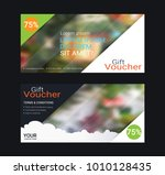 gift certificates and vouchers  ... | Shutterstock .eps vector #1010128435