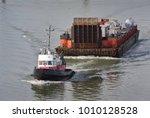 Tug Boat And Barge  Fraser...