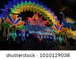 little india  singapore  ... | Shutterstock . vector #1010129038