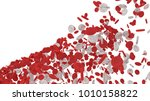 red blood cell of body. ...   Shutterstock . vector #1010158822