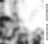 halftone black and white.... | Shutterstock .eps vector #1010186206