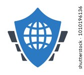 shield protection secure    | Shutterstock .eps vector #1010196136
