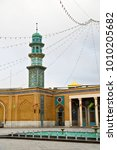 blur in iran  and old antique... | Shutterstock . vector #1010205682