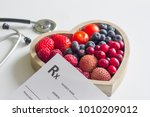 Health diet with heart...