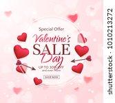 vector template of sale banner... | Shutterstock .eps vector #1010213272