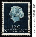 netherlands   circa 1954  a... | Shutterstock . vector #101021785