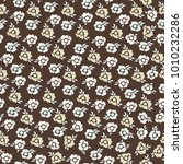 seamless pattern with cute... | Shutterstock . vector #1010232286