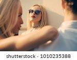 jealousy  alluring  desire ... | Shutterstock . vector #1010235388