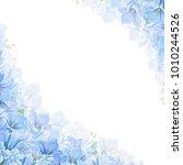 vector corner background with... | Shutterstock .eps vector #1010244526