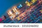 logistics and transportation of ... | Shutterstock . vector #1010246002