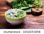 traditional indian cuisine.... | Shutterstock . vector #1010251858