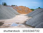 large piles of construction... | Shutterstock . vector #1010260732