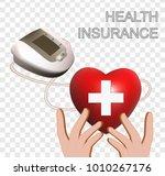 pressure measurement on the...   Shutterstock . vector #1010267176