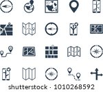 location   map icons | Shutterstock .eps vector #1010268592